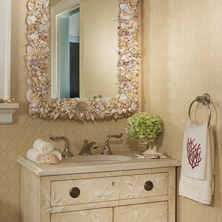 Beautiful Sink And Bathroom Mirror