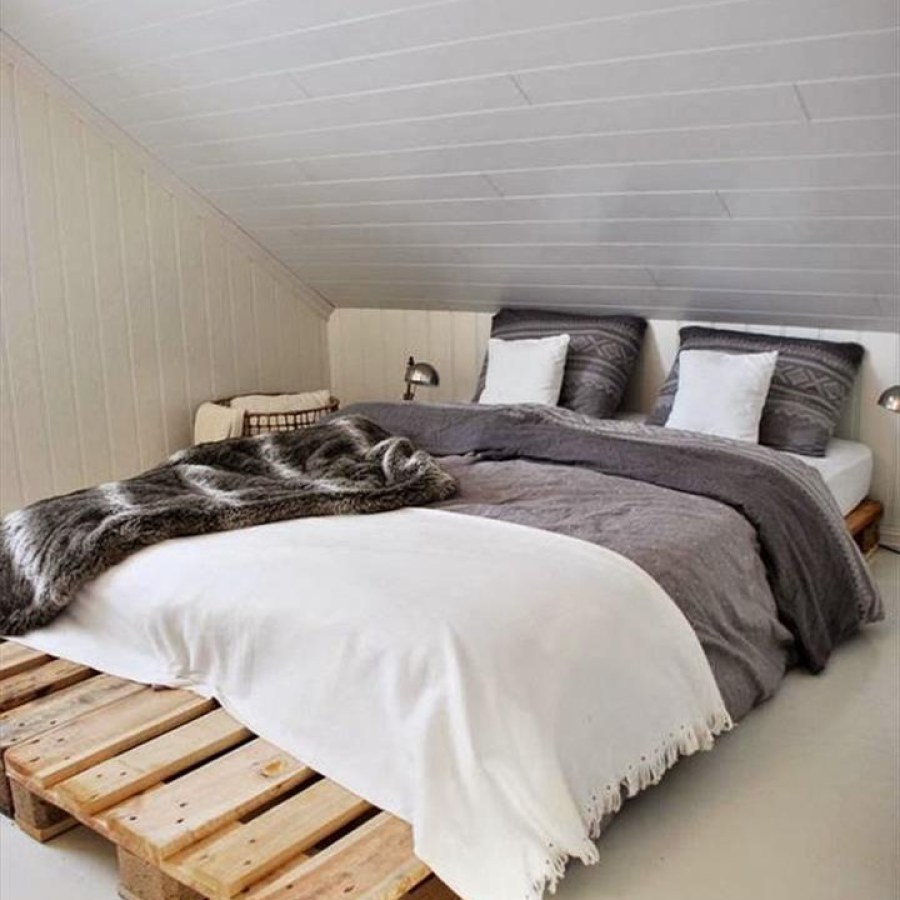 Low Pallet Bedroom Furniture