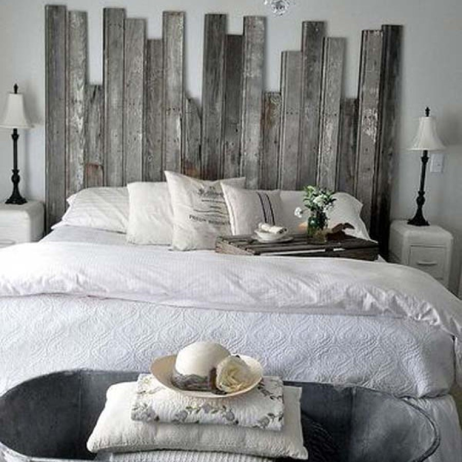 Pallet Farmhouse Headboard