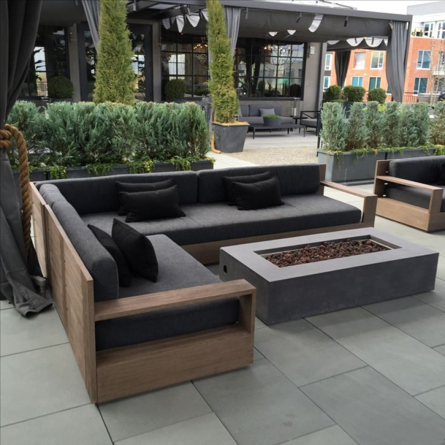 Modern Patio Pallet Furniture