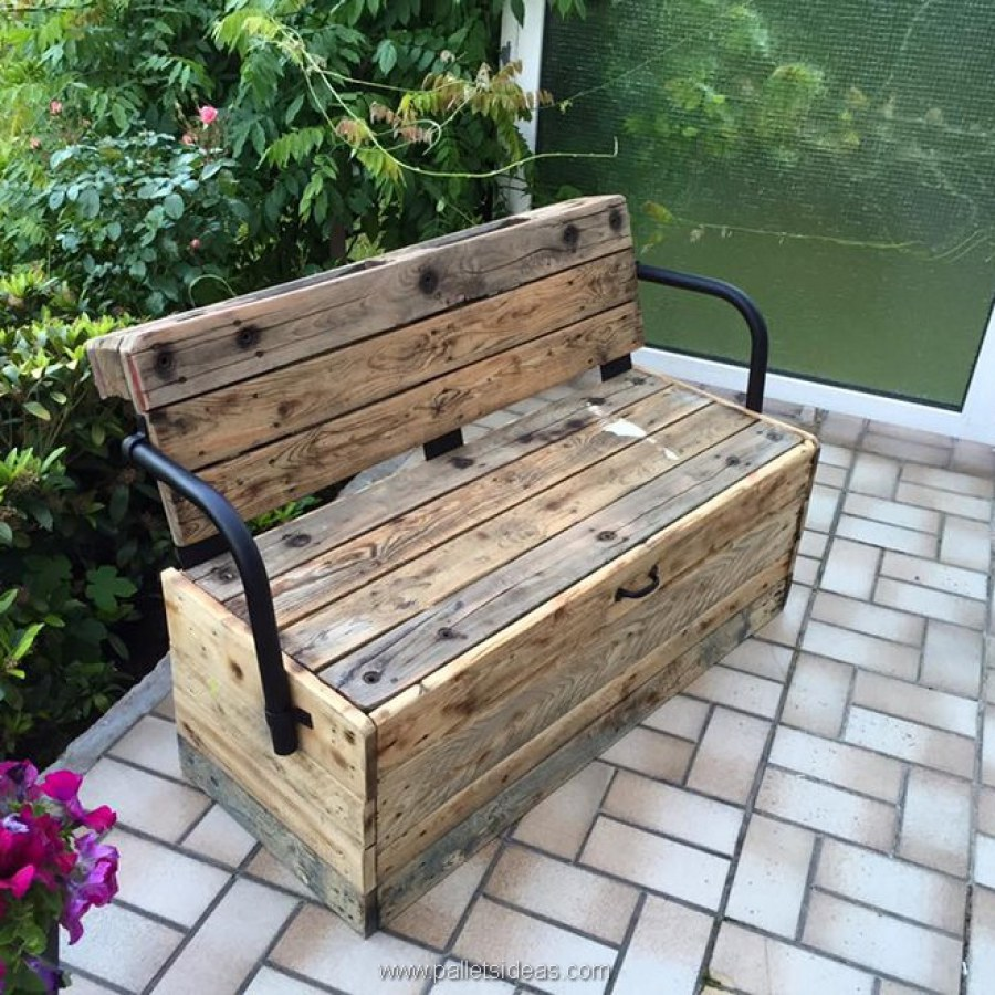 Patio Bench With Storage