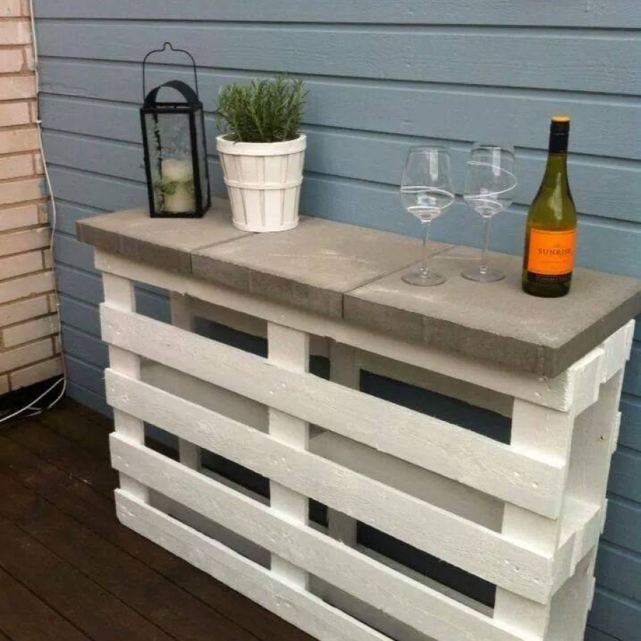 Pallet Patio Tables